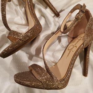 Jessica Simpson Rayli Asymetric High Heels